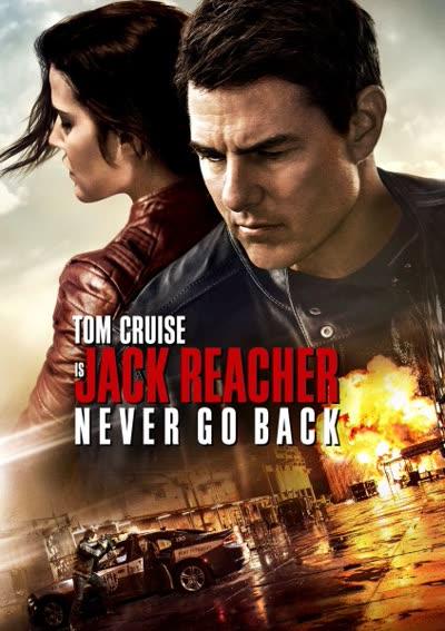 پوستر جک ریچر: هرگز بازنگرد