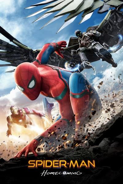 پوستر مرد عنکبوتی: بازگشت به خانه