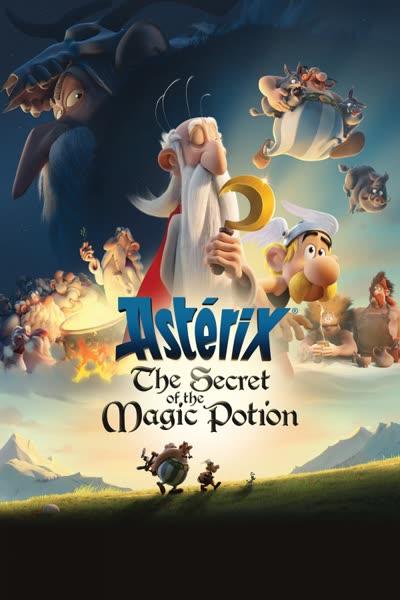 پوستر آستریکس: راز معجون جادویی