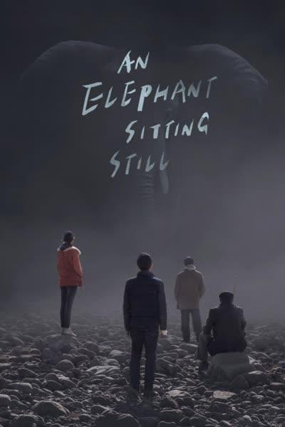 پوستر فیلی که هنوز نشسته است