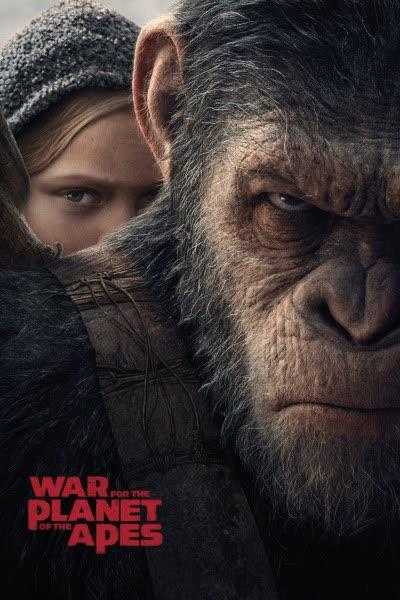 پوستر جنگ برای سیاره میمونها