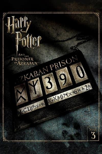 پوستر هری پاتر و زندانی آزکابان