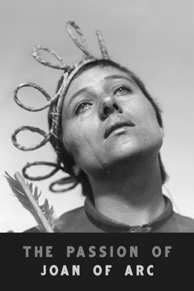 پوستر مصائب ژان دارک
