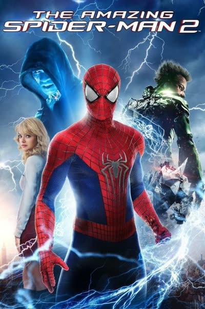 پوستر مرد عنکبوتی شگفتانگیز ۲