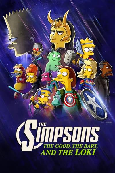 پوستر سیمپسون ها: خوب، بارت و لوکی