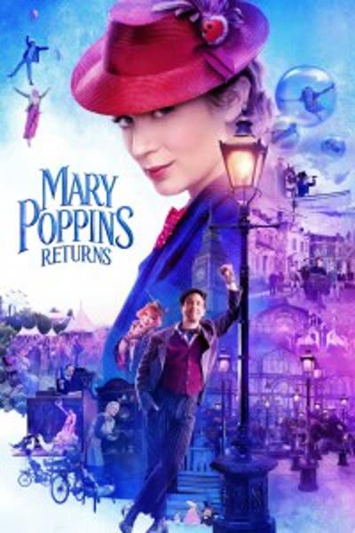 پوستر بازگشت مری پاپینز