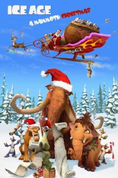 پوستر عصر یخبندان: کریسمس یک ماموت