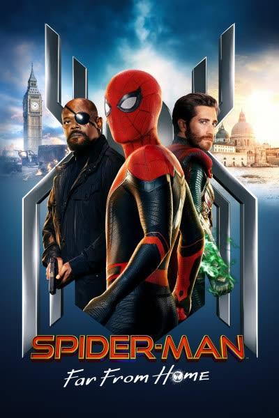 پوستر مرد عنکبوتی: دور از خانه
