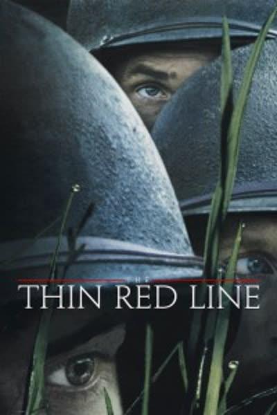 پوستر خط باریک سرخ