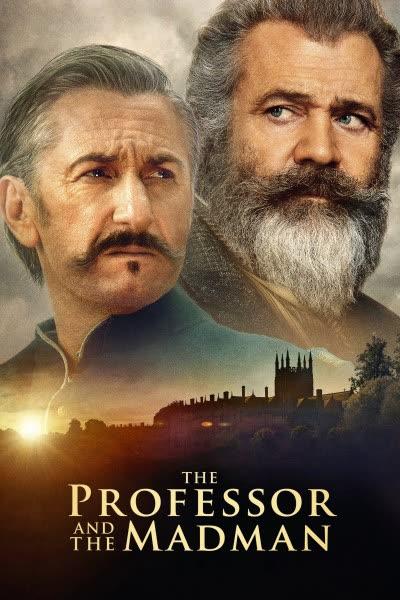 پوستر پروفسور و مرد دیوانه