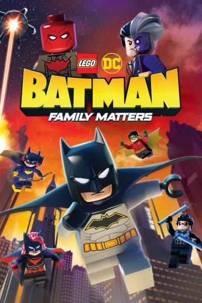 پوستر لگو دیسی: بتمن - مسائل خانوادگی