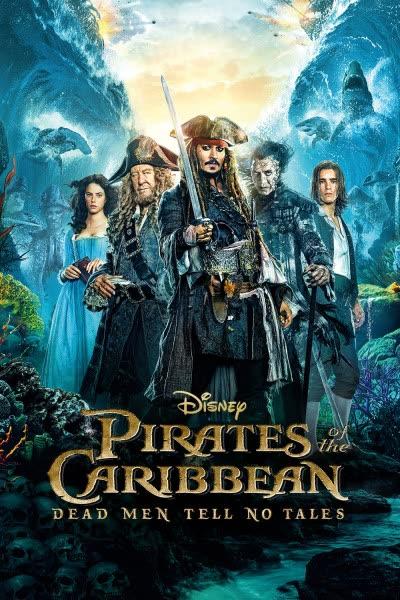 پوستر دزدان دریایی کارائیب: مردان مرده قصه نمیگویند