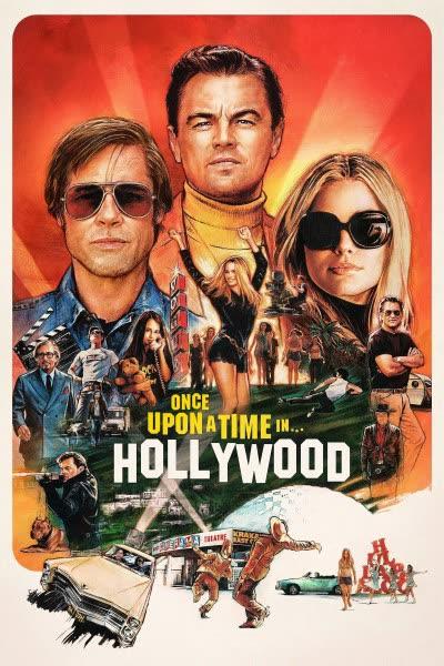 پوستر روزی روزگاری در هالیوود