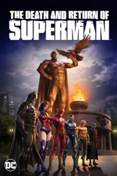 پوستر مرگ و بازگشت سوپرمن